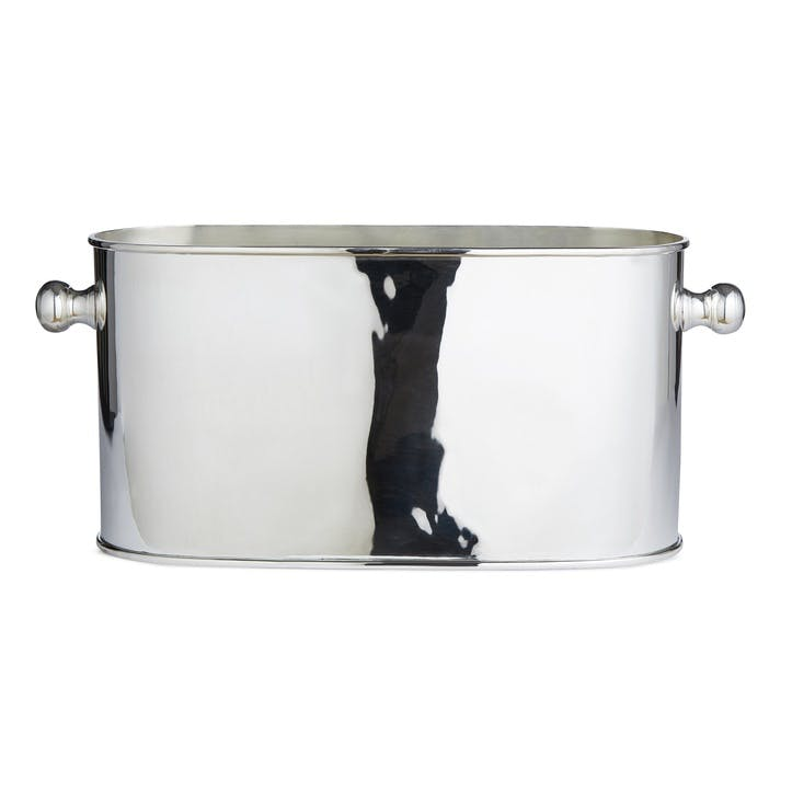 Audley Silver Wine Cooler, Large