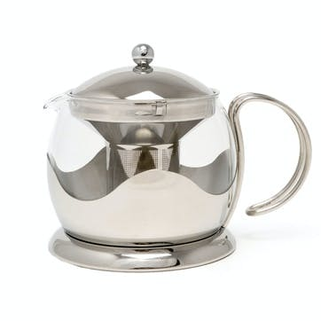 Le Teapot Stainless Steel, 4 Cup