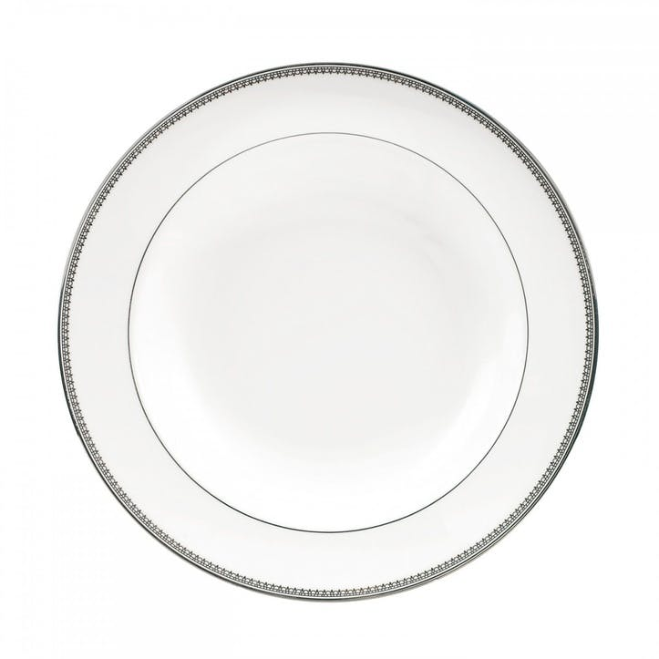 Lace Platinum Soup Plate