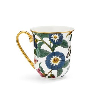 Mug White, Floral