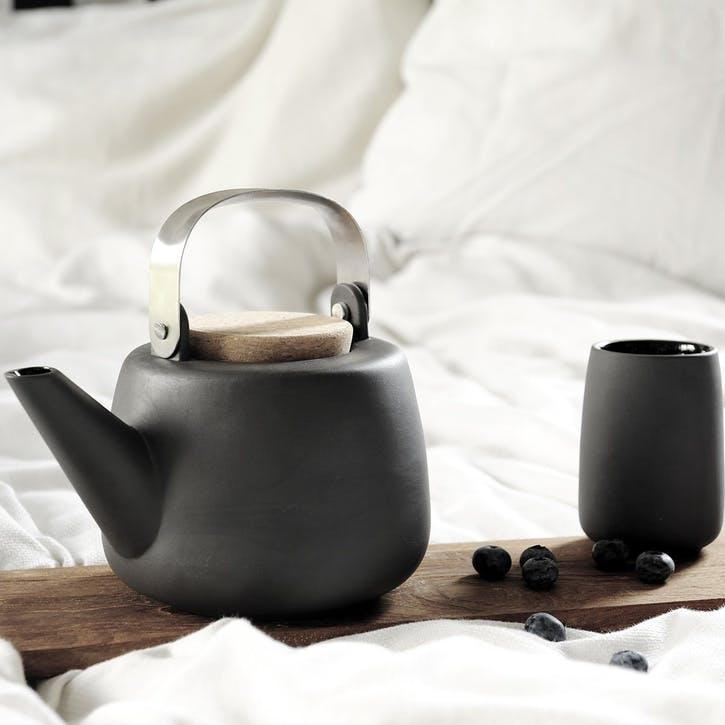 Nicola Teapot, Grey