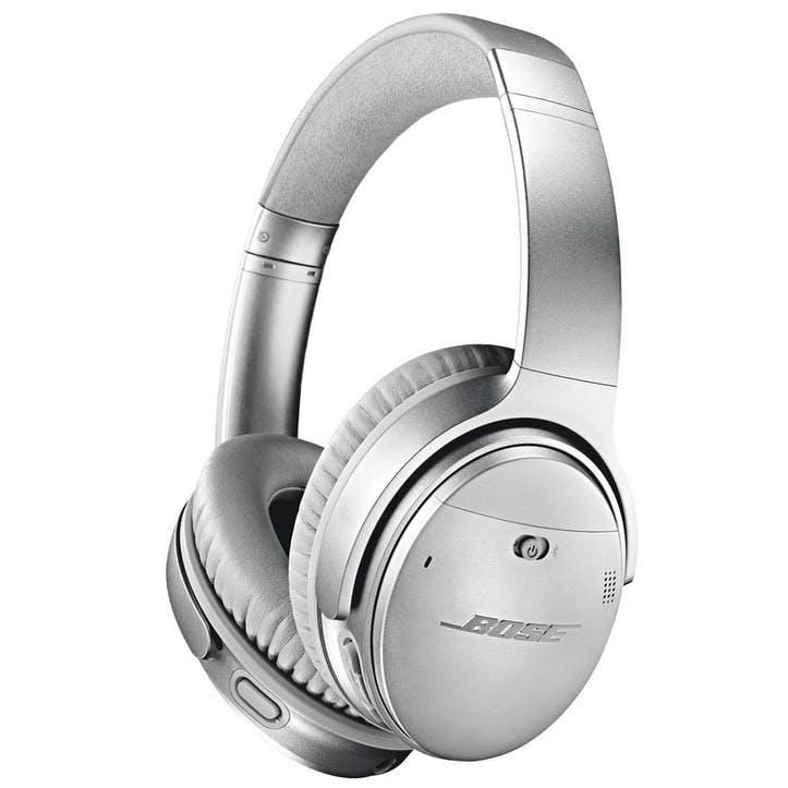 QuietComfort QC35 II Wireless Bluetooth Noise-Cancelling Headphones; Silver