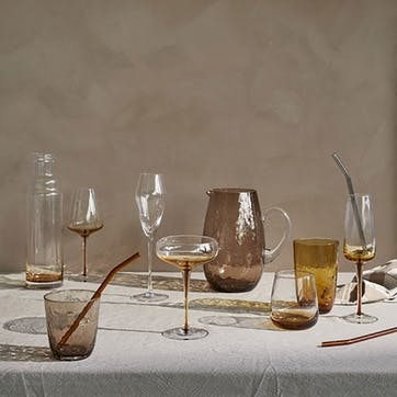 Amber Cocktail Glass