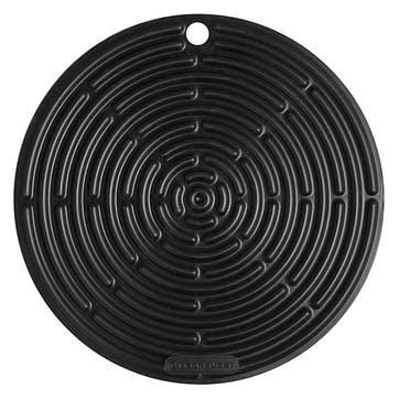 Silicone Round Cool Tool; Satin Black