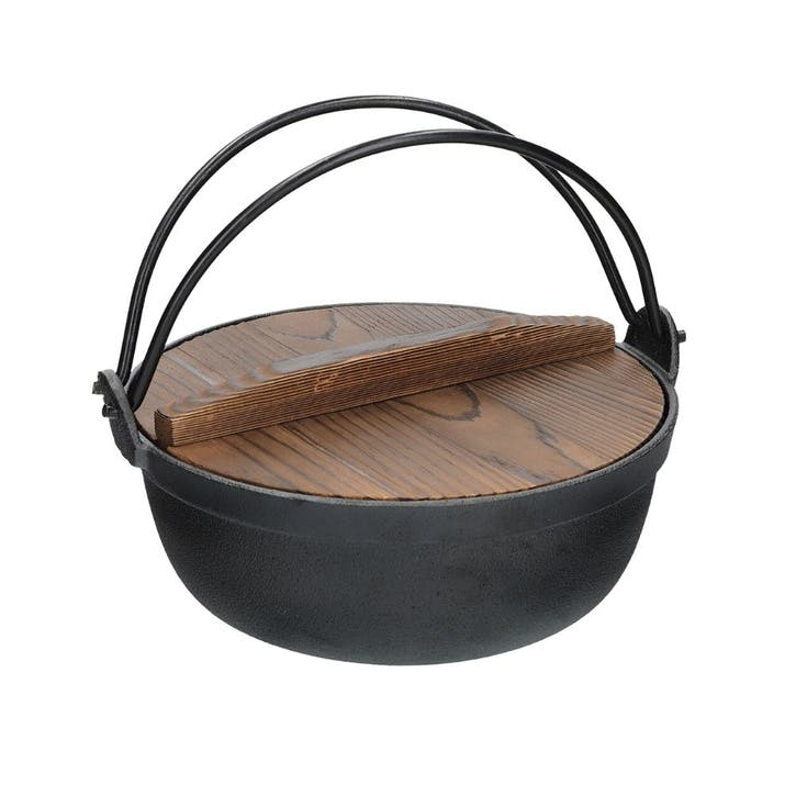 World of Flavours Oriental Cast Iron Cooking Pot