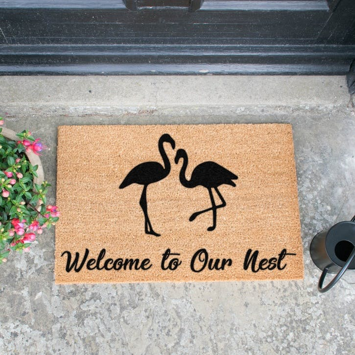 Welcome To Our Nest Doormat