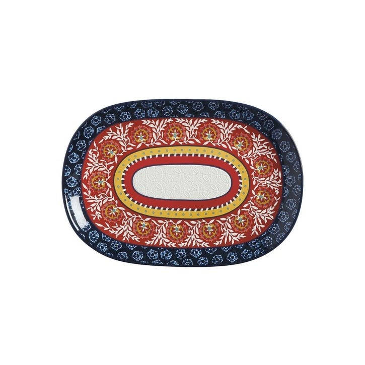 Boho Oblong Platter, Medium