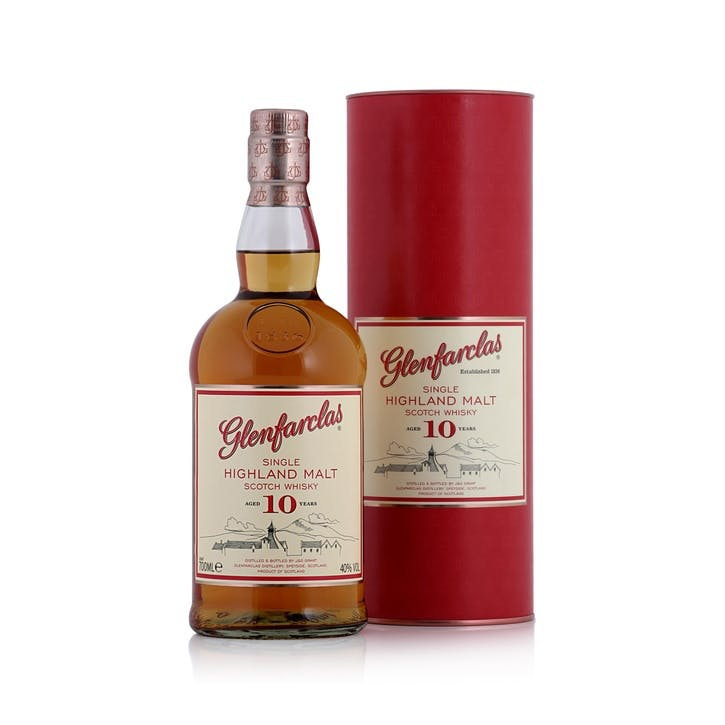 Glenfarclas 10 Year Old Highland Single Malt Whisky 40%