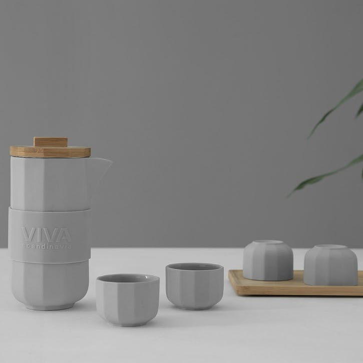 Alexander Tea Set, Scandi Grey