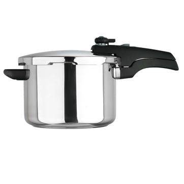 Stainless Steel Smartplus Pressure Cooker, 6L