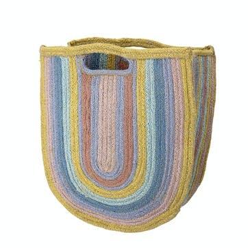 Jute Rainbow Storage Bag