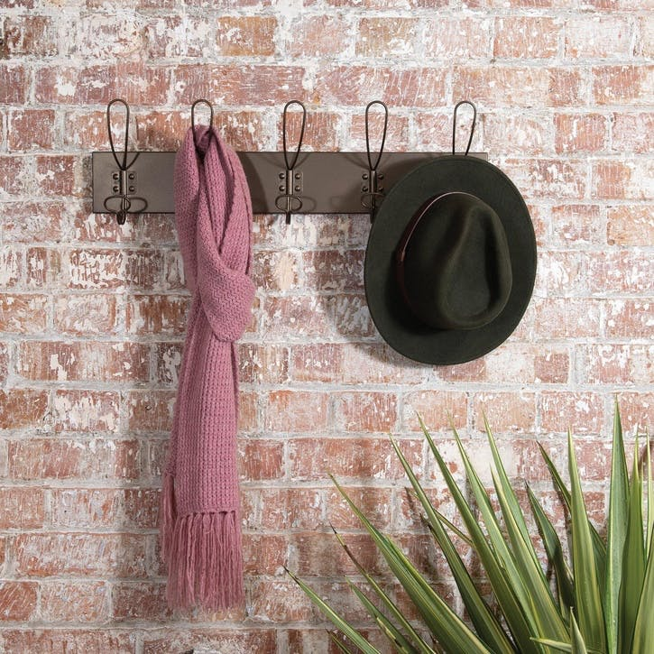 Industrial Metal Coat Hooks