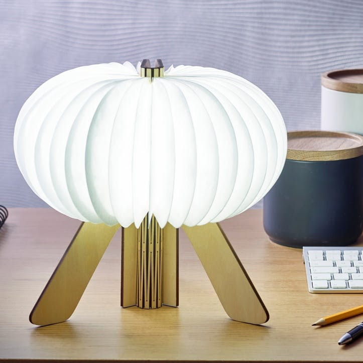 R Space Lamp, Maple