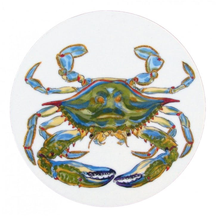 Blue Crab Coaster - 10cm