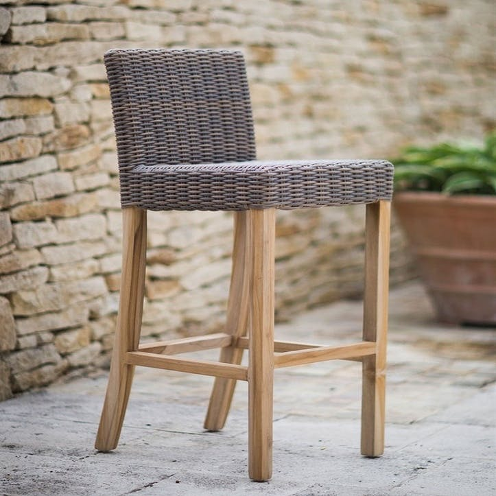 Lymington Bar Stool All-weather Rattan