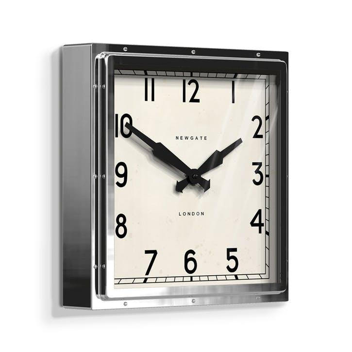 Quad Wall Clock, Dia. 40cm, Metal