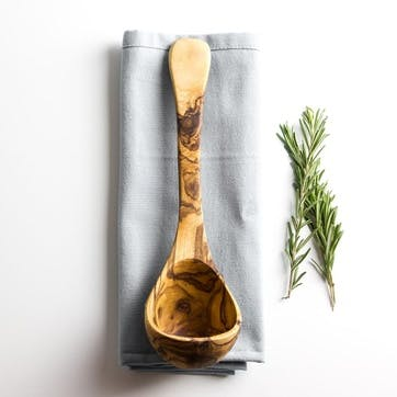 Traditional Olive Wood Ladle