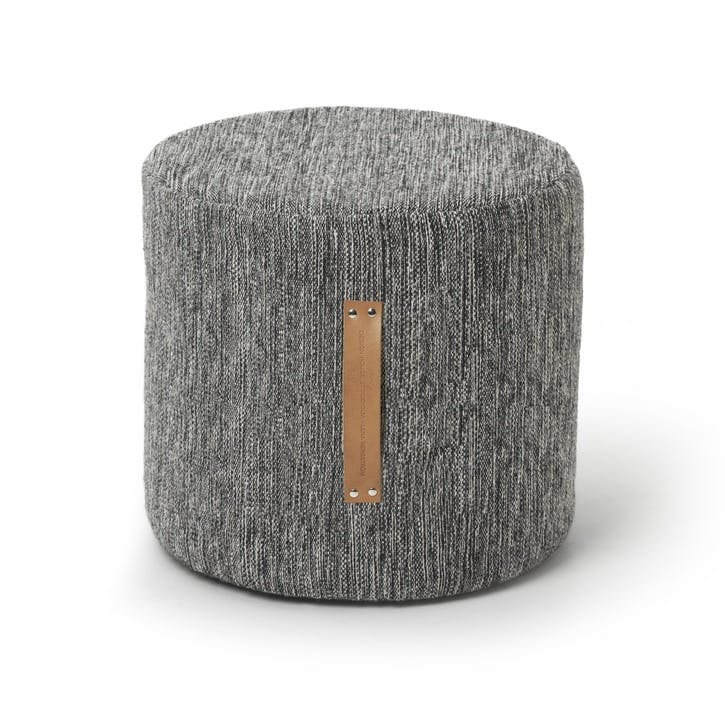 Björk Pouffe, High, Dark Grey
