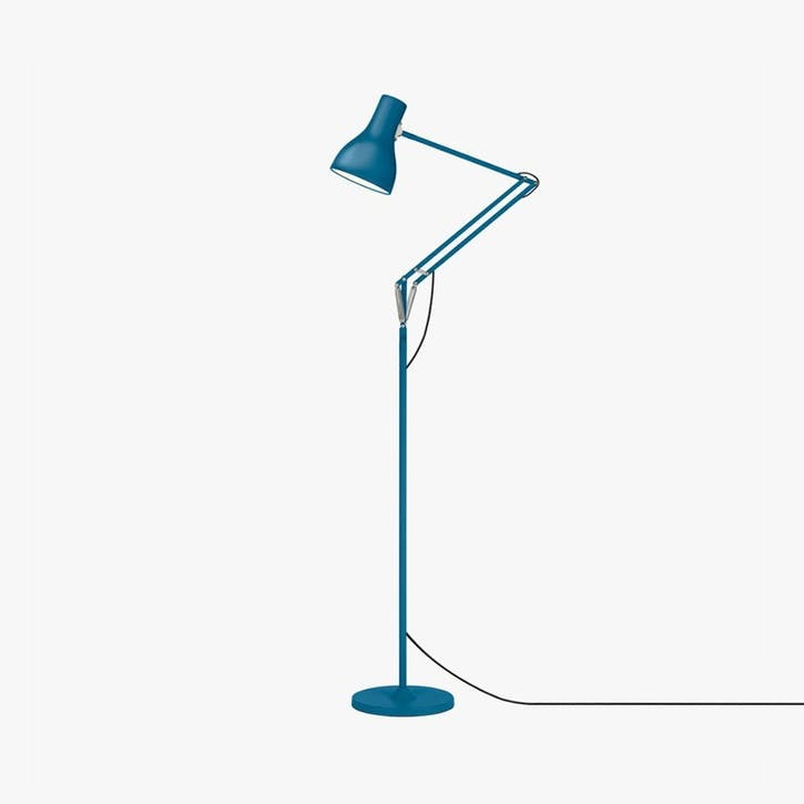 Floor Lamp Saxon Blue