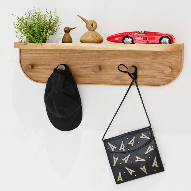 Nook Five-Hook Shelf