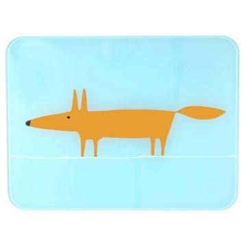 Mr Fox Worktop Saver, Blue