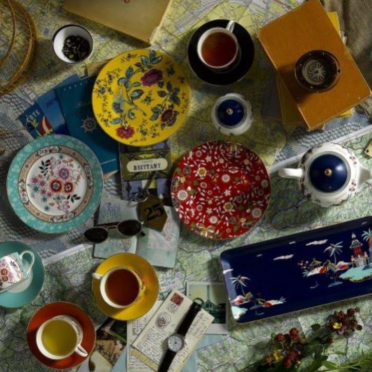 Wonderlust Tea Bowls, Set of 4