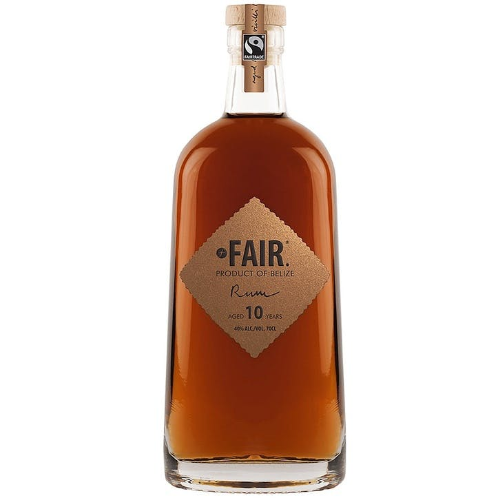 FAIR. Rum Product of Belize, 10 Year Old 40%