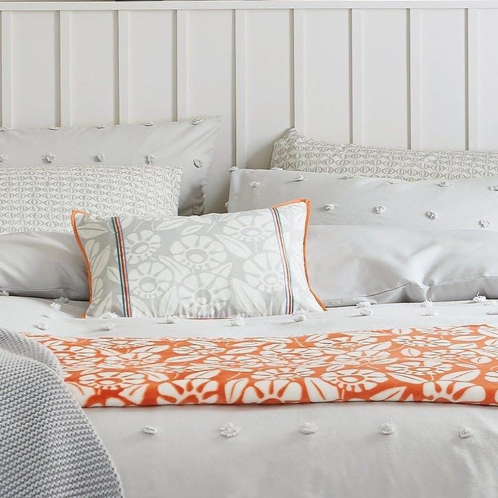 Tivoli Breakfast Cushion, Coral