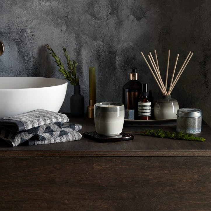 Home Fragrance Modus Candle Pot Brown