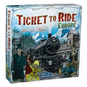 Ticket to Ride Europe Edition Board Game