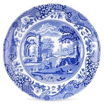 Blue Italian Tea Plates, Set of 4