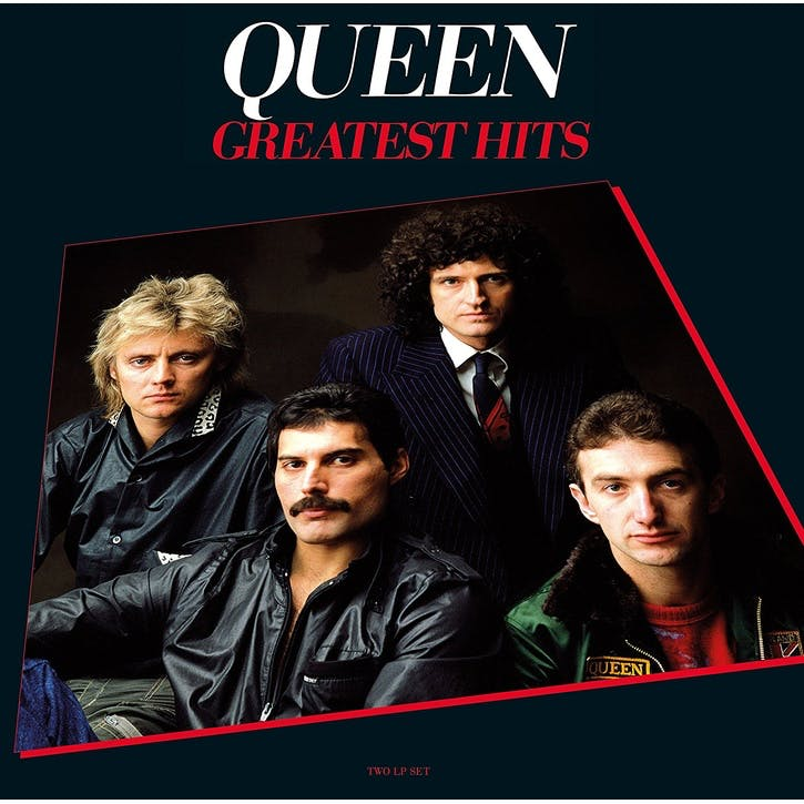 "Queen, Greatest Hits 12"" Vinyl Record"