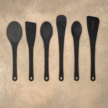 Spoon, Large, Slate Wood Pulp