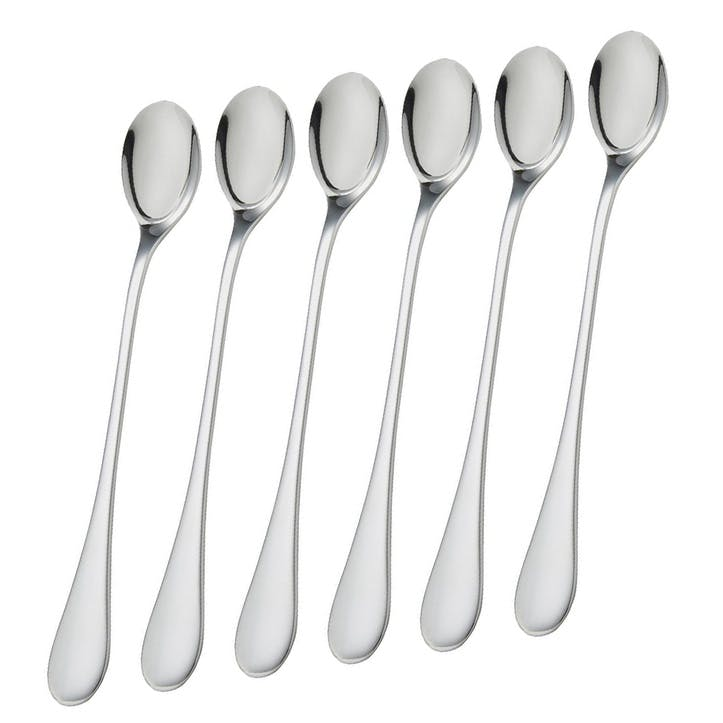 Select Long-Handled Spoons, Set of 4