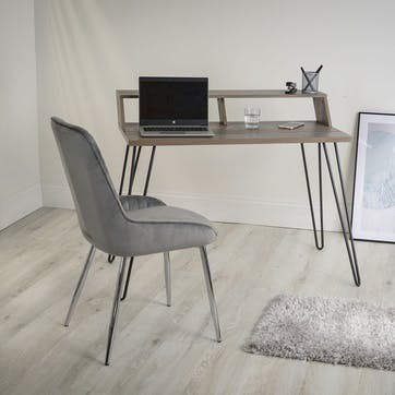 Bea Smart Desk, Grey