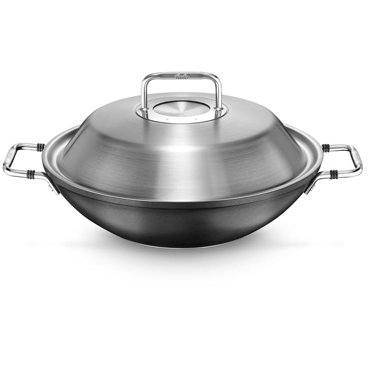 Luno Collection Wok With Lid, 31cm