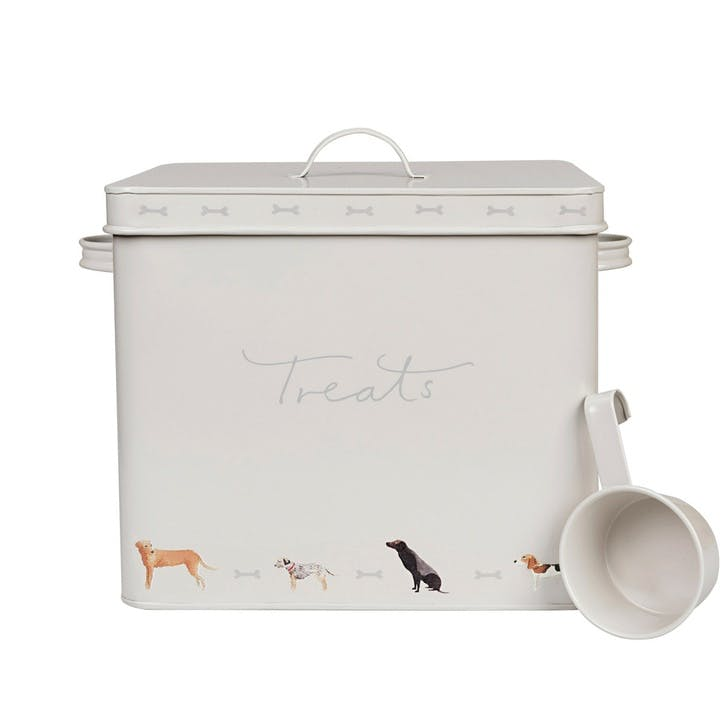 'Woof!' Dog Treat Tin