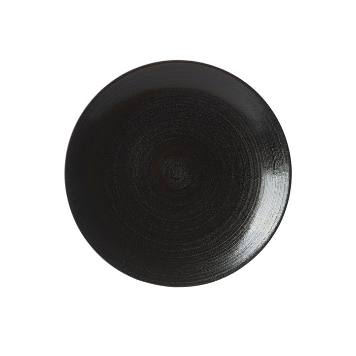 Studio Glaze Coupe Plate - 16.5cm; Midnight