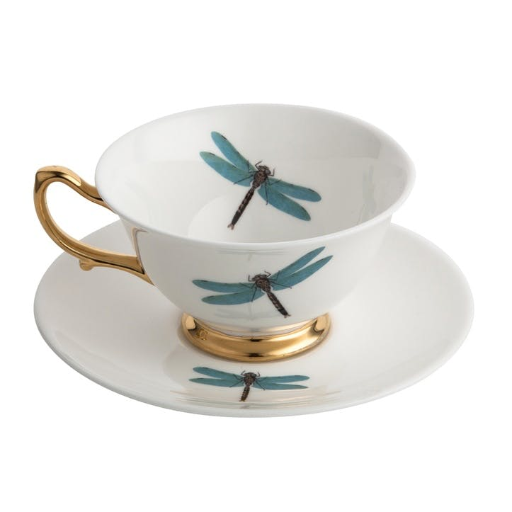 Urban Nature Dragonfly Tea Cup & Saucer