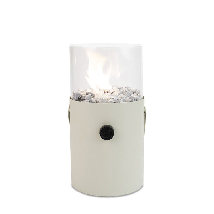 Portable Cosiscoop Fire Pit; Ivory
