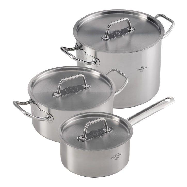 Montreux 3 Piece Cookware Set