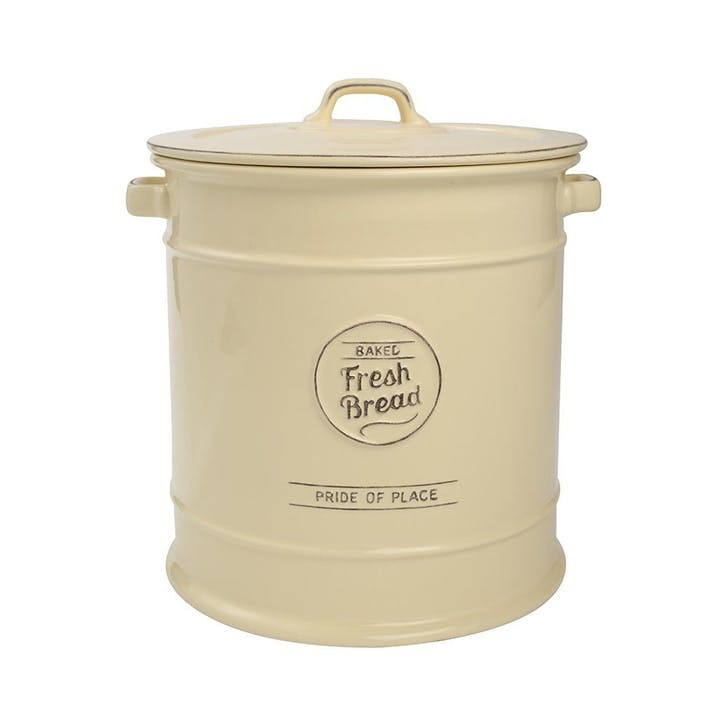 Pride of Place Bread Crock, Old Cream
