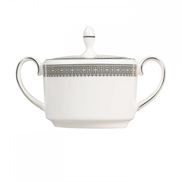 Lace Platinum Sugar Pot