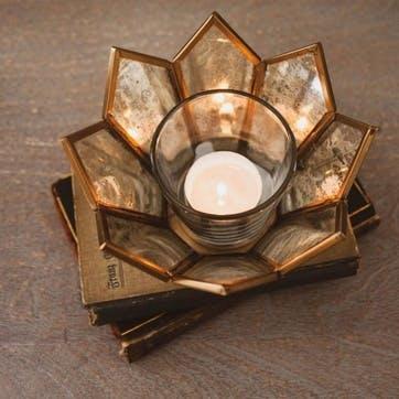 Dufrene Lotus Tea Light Holder