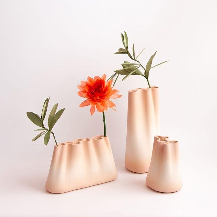 Jumony Small Vase, Peach