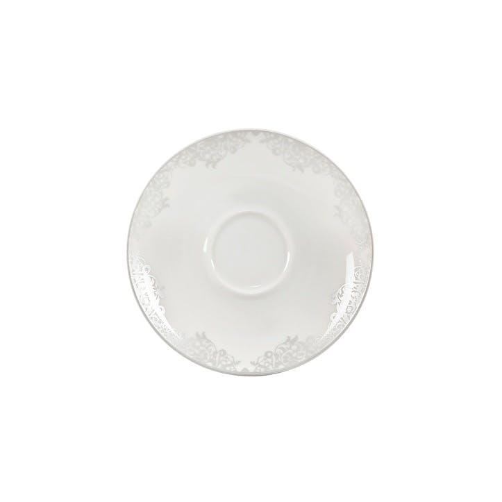 Filigree Silver Tea/ Coffee Saucer, 15cm