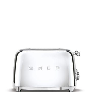 4 By 4 Toaster, Chrome
