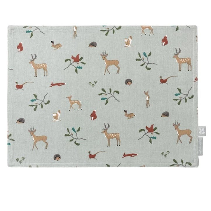 'Woodland' Fabric Placemat