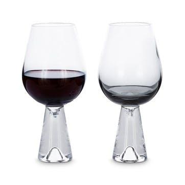 Tank Wine Glasses, Set of 2, Black