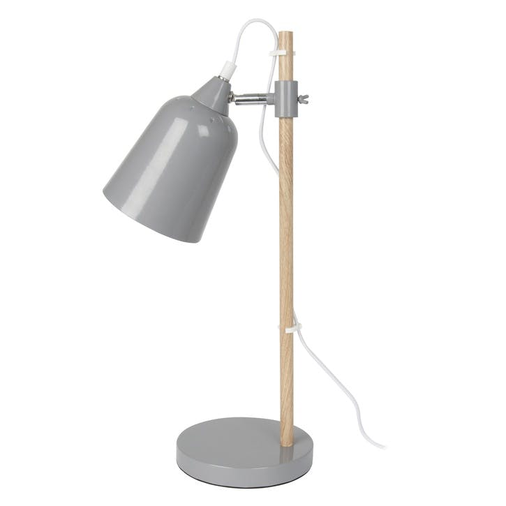 Table Lamp, Grey